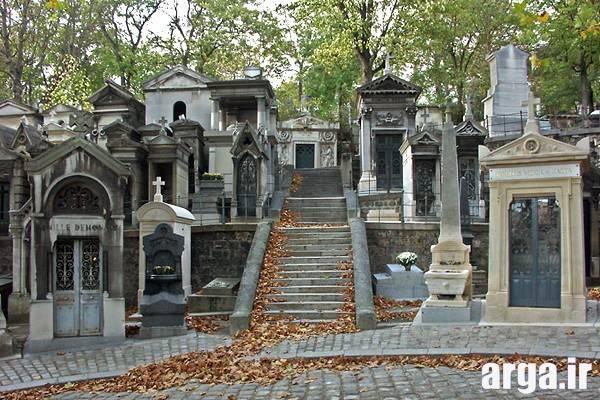 دومین تصویر از گورستان پاریس