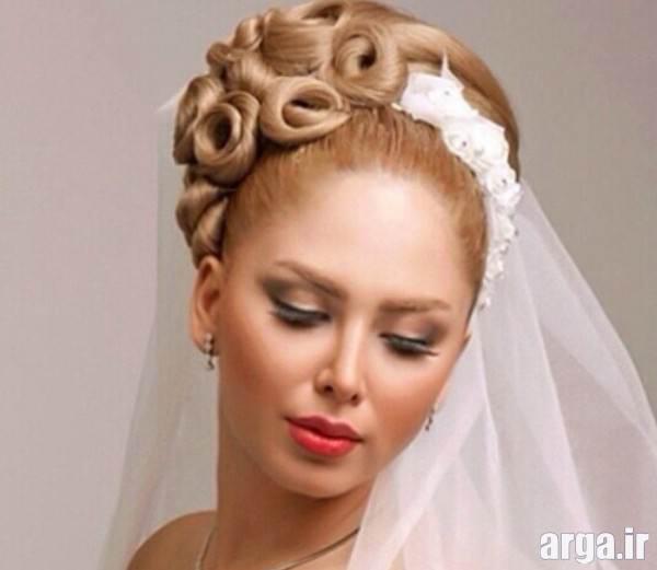 شینیون زیبا عروس