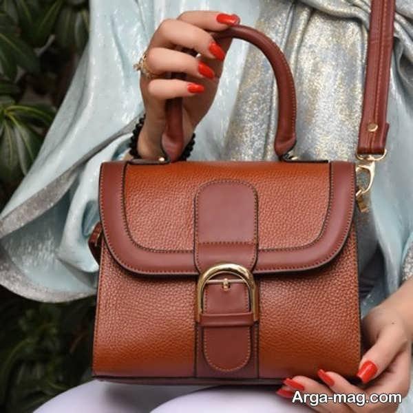 تصاویری از کیفهای چرم دستی