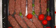 کباب تابه ایی با گوجه فرنگی