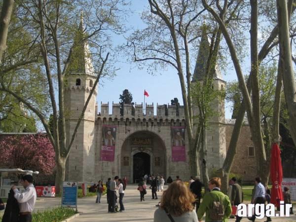 تصویری دیگر از کاخ توپکاپی استانیول