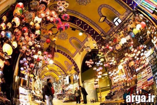 درون بازار بزرگ استانبول