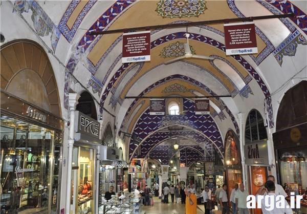 نمایی دیگر از بازار بزرگ استانبول