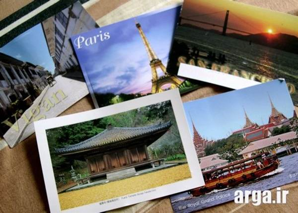 انواع کارت پستال منظره