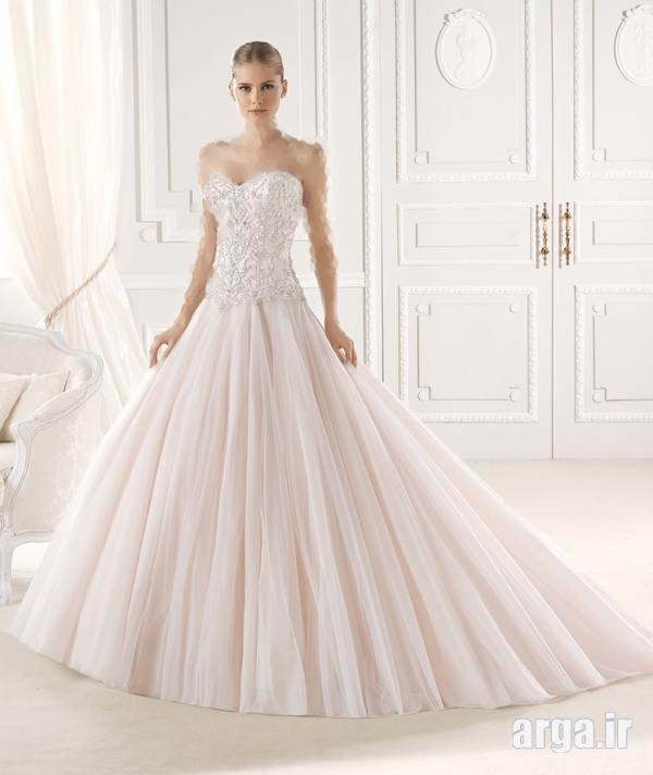 لباس عروس نیم تنه