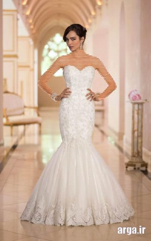 لباس عروس مدل ماهی