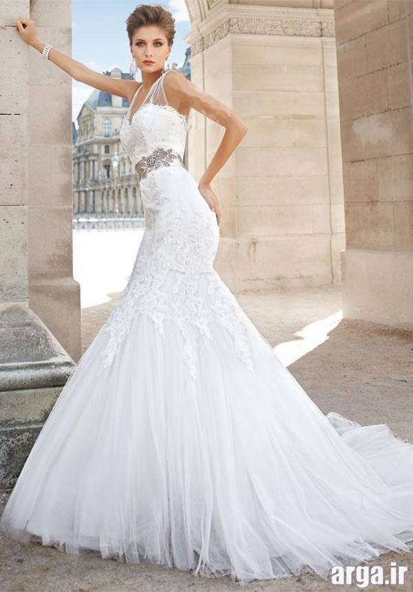 یک لباس عروس رویایی