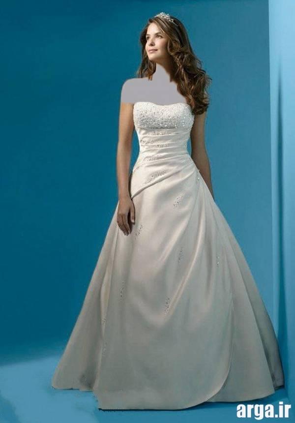 لباس عروس ساده ولی شیک
