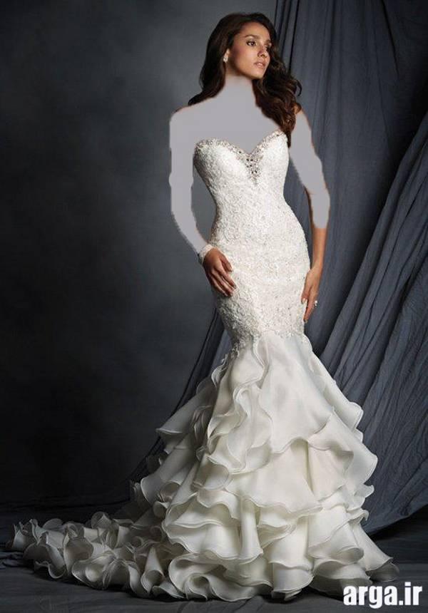 دومین مورد از لباس عروس شیک