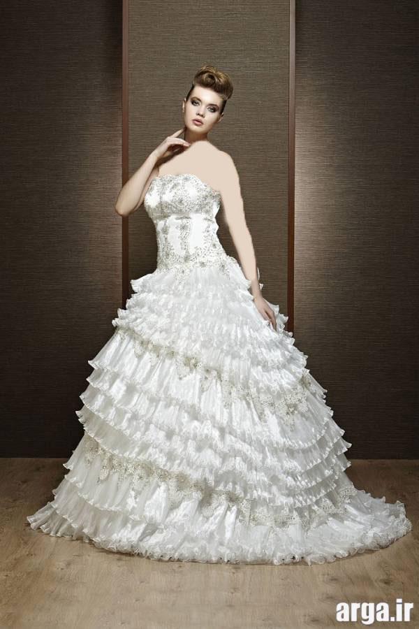 لباس عروس ایرانی شیک