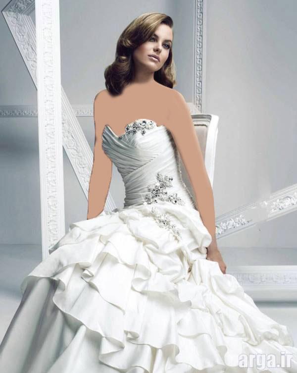 لباس عروس ایرانی مدرن