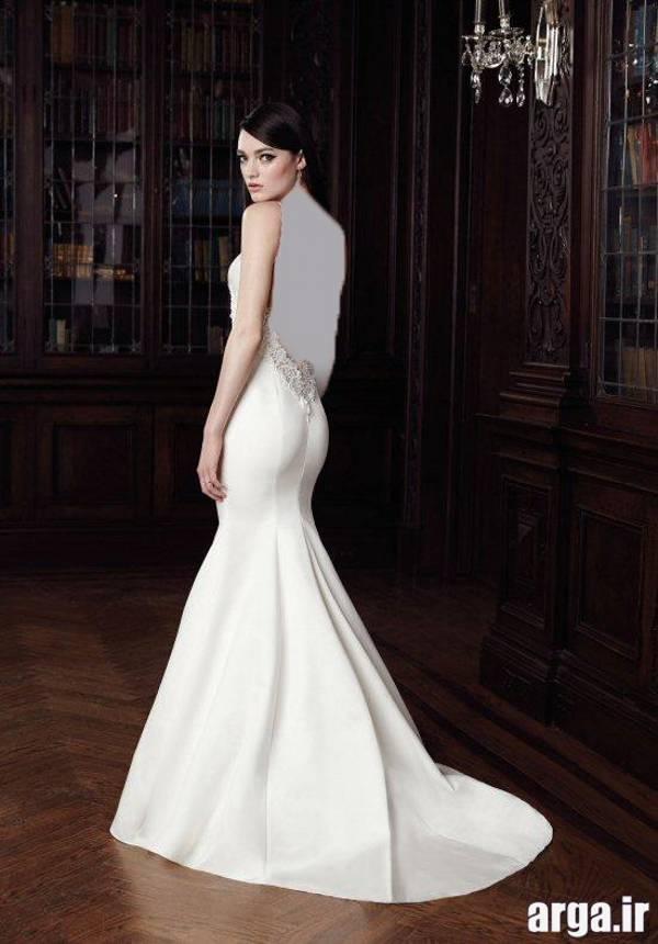 لباس عروس دانتل دار