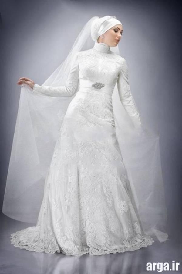 لباس عروس پوشیده اسلامی