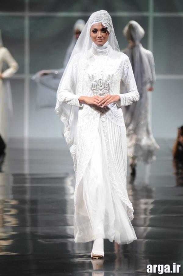 جدیدترین مدل لباس عروس اسلامی