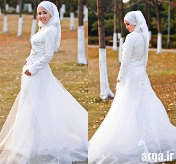 لباس عروس پوشیده مسلمانان