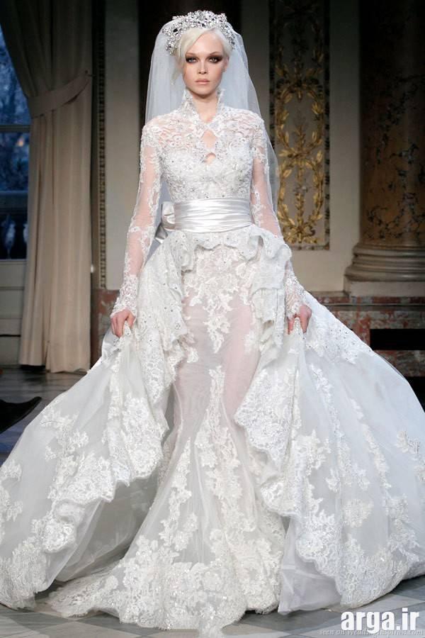 دومین مدل لباس عروس پوشیده