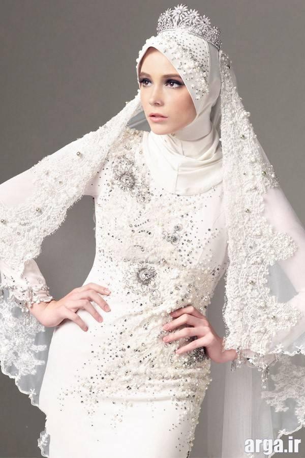 لباس عروس عربی