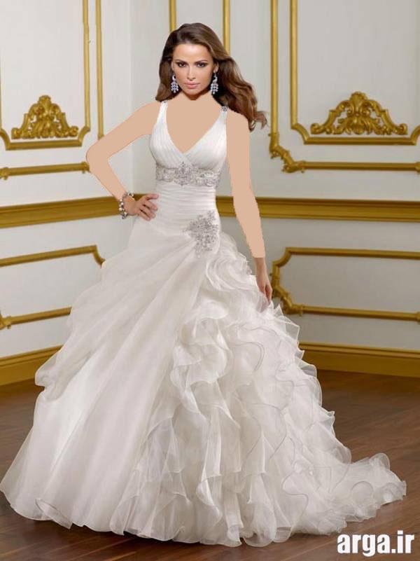 لباس عروس مدرن و شیک