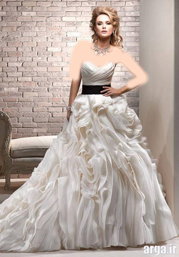 لباس عروس زیبا و مدرن