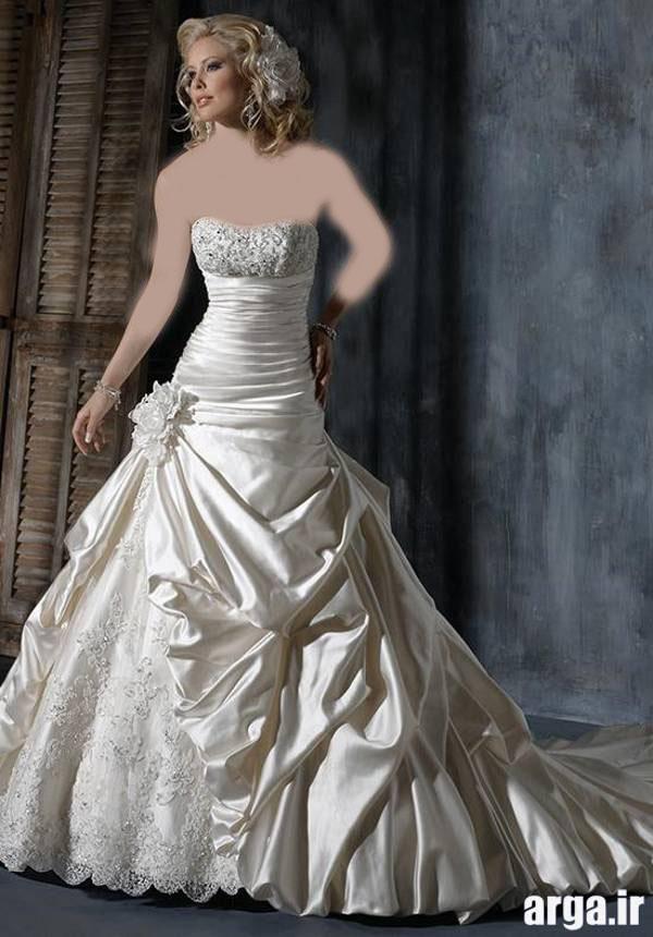 لباس عروس زیبا و باکلاس