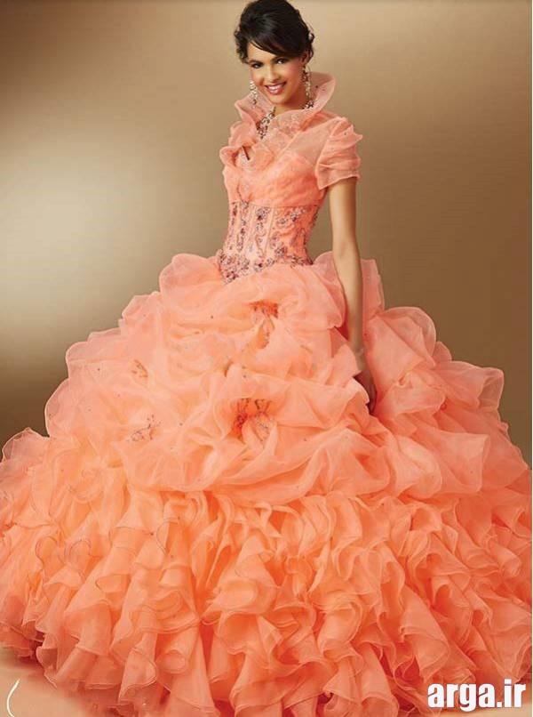 مدل لباس نامزدی گلبهی