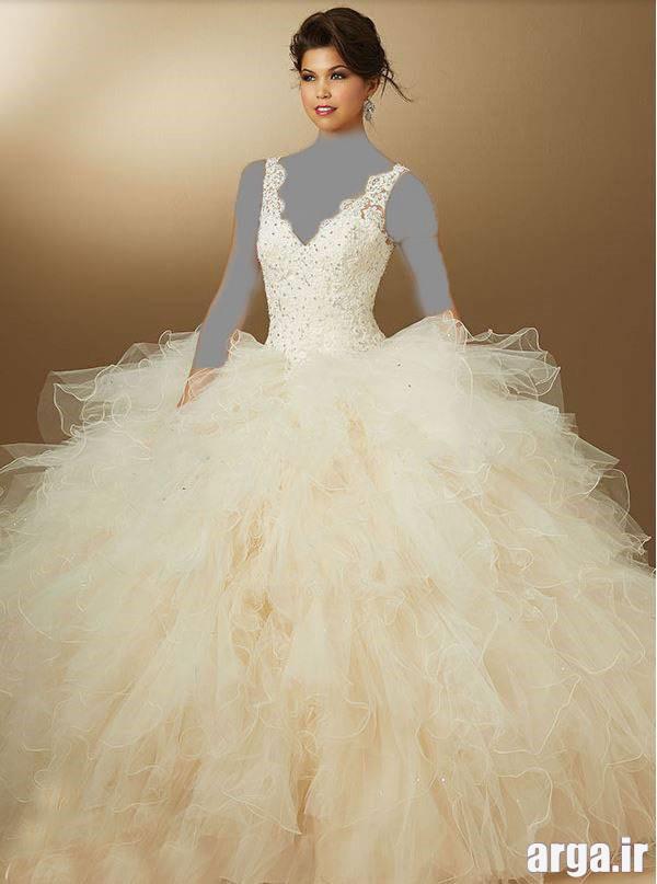 مدل لباس نامزدی سفید