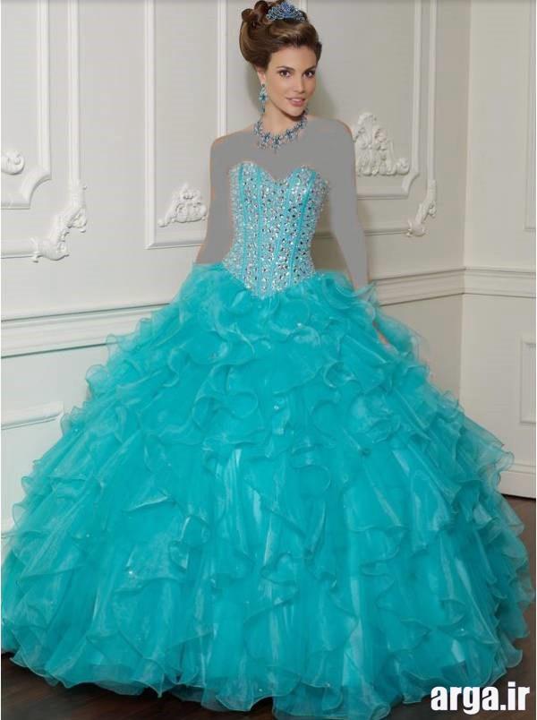لباس نامزدی آبی