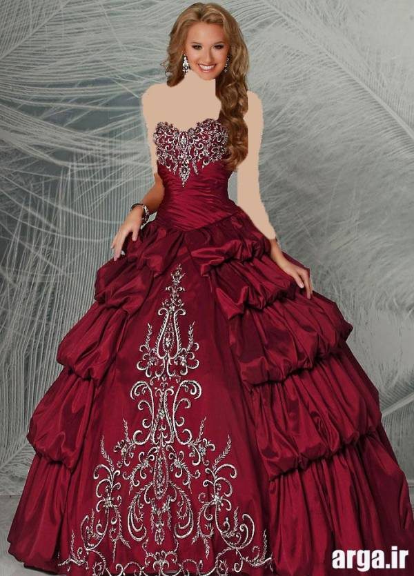 لباس نامزدی زیبا و جذاب