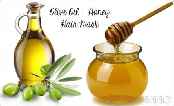 ماسک عسل و زیتون تقویت کننده ی مو