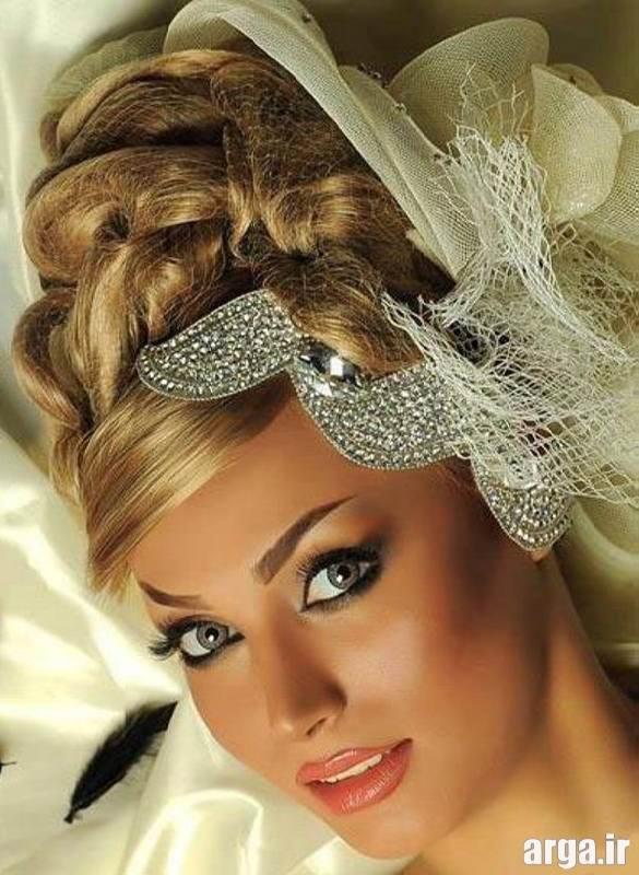 آرایش عروس شیک و جذاب