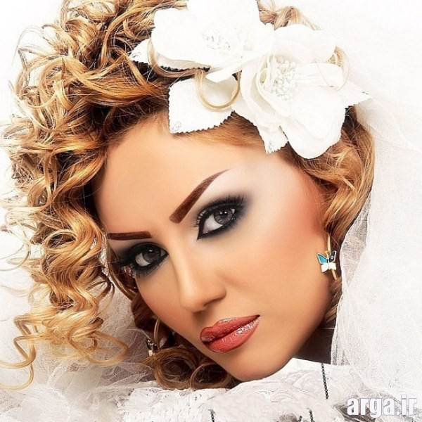 آرایش صورت عروس 94