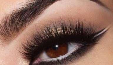 آرایش چشم قهوه ای