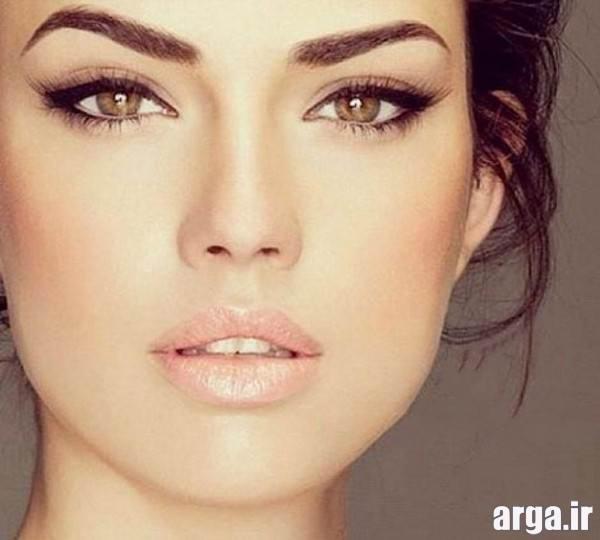 مدل آرایش مناسب صورت های کشیده