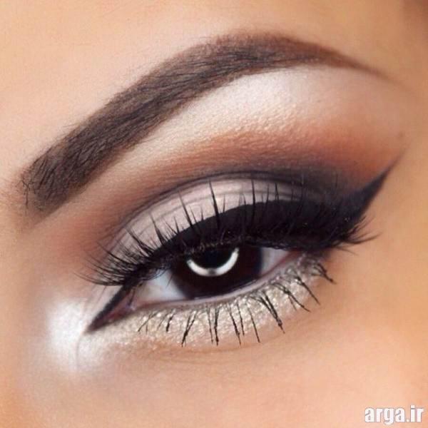آرایش چشم زیبا و شیک عروس