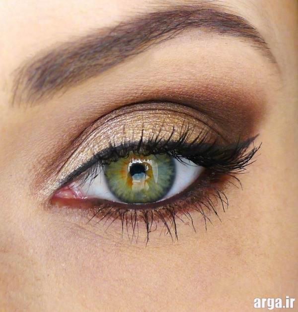 مدل سایه چشم ساده و شیک عروس