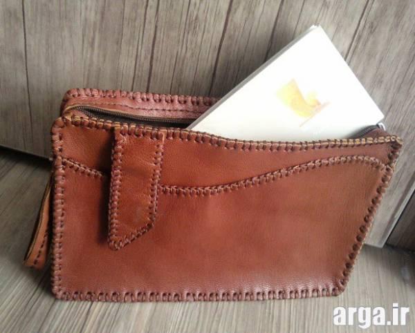 کیف چرم دست دوز مردانه 1