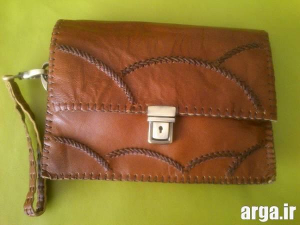 کیف چرم دست دوز مردانه 3