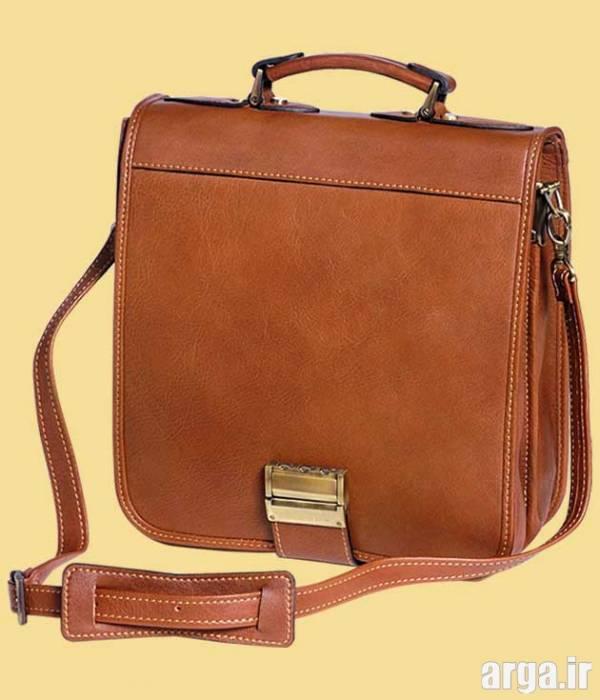 کیف چرم دست دوز مردانه 4