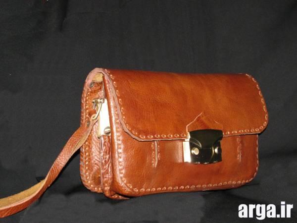 کیف چرم دست دوز مردانه 5