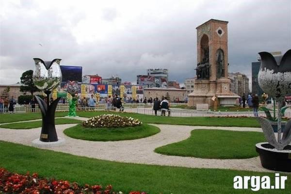 تصویر دیگری از میدان تاکسیم در استانبول