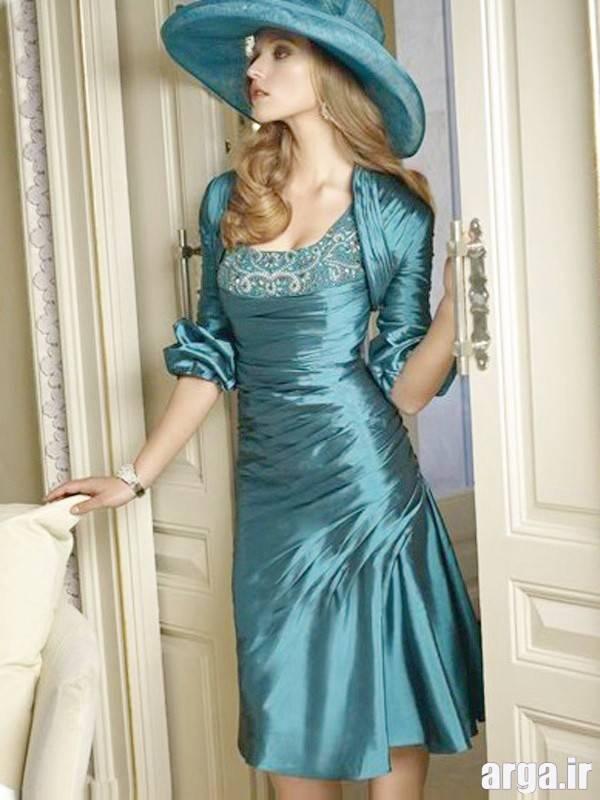 مدل لباس مجلسی کت دار