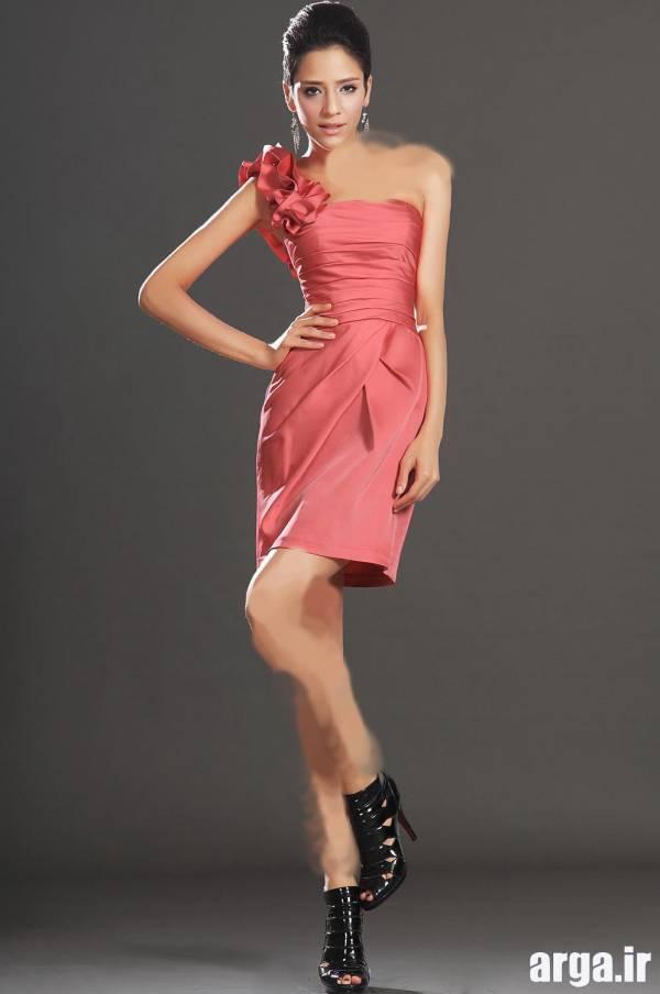 مدل لباس مجلسی گل بهی