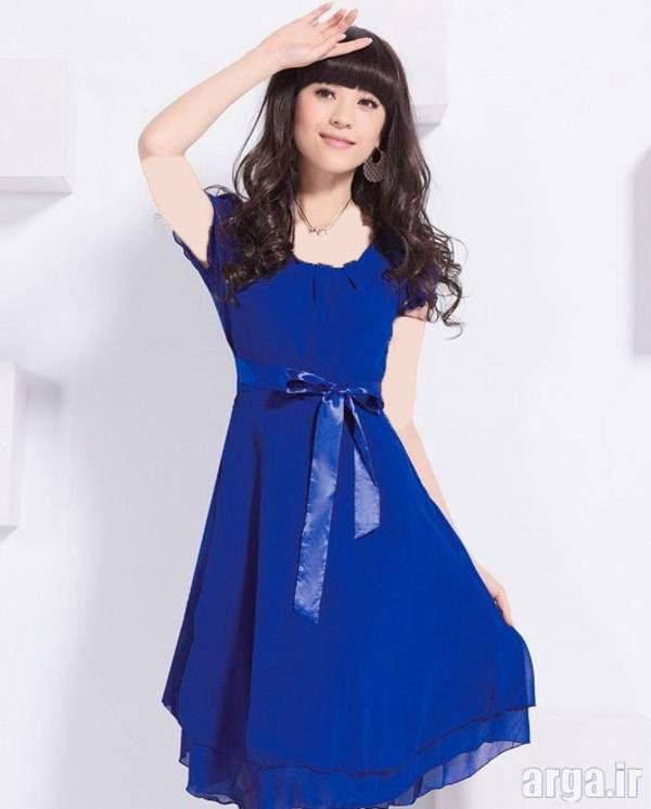 لباس مجلسی آبی پررنگ