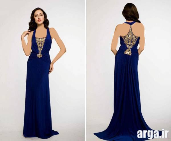 سومین مدل لباس مجلسی 2015