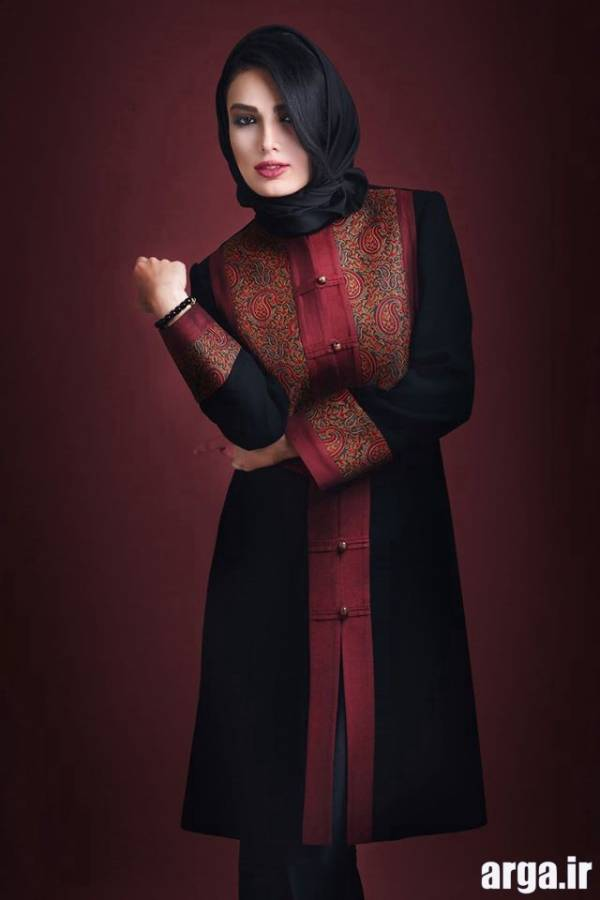 مدل مانتو زرشکی