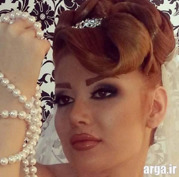 مدل مو عروس زیبا و شیک