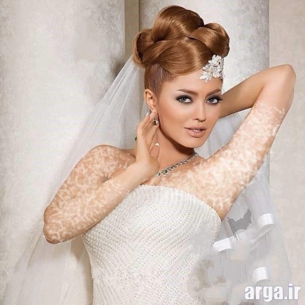مدل موی متفاوت عروس
