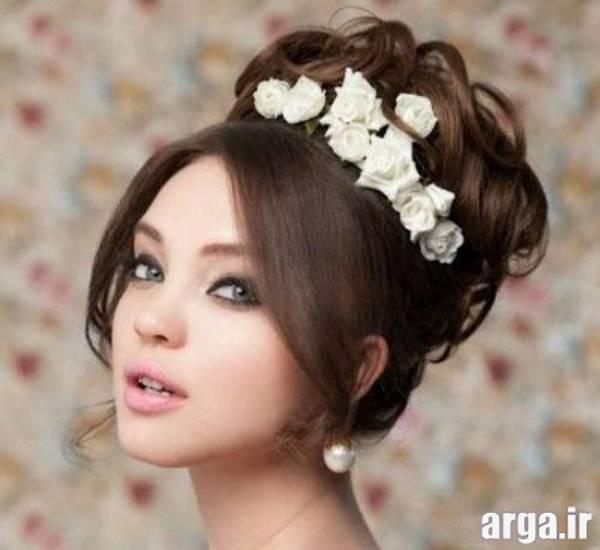 مدل مو ساده عروس