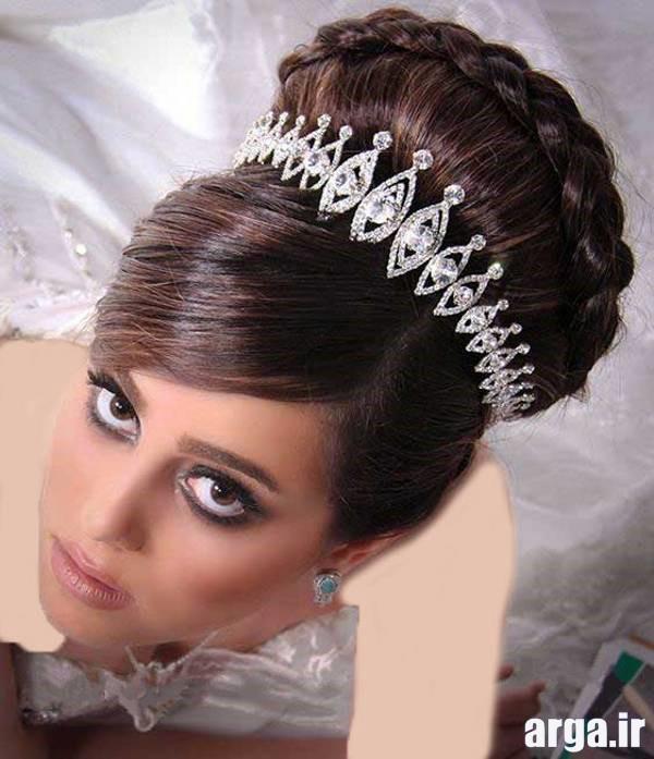 مدل موی جمع عروس