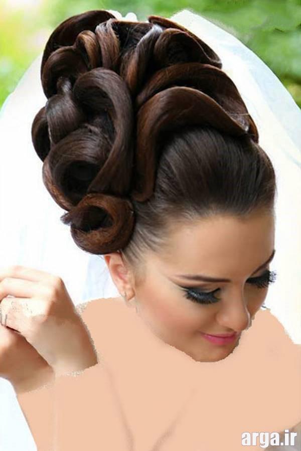 یک مدل موی زیبا برای عروس